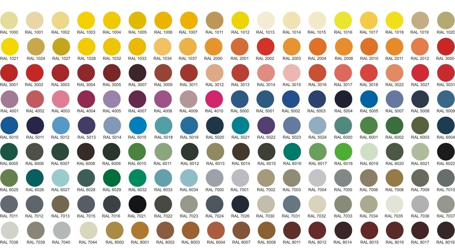 подобрать цвета для пластиковых окон
